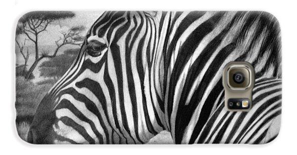 Zebra Galaxy S6 Case by Tim Dangaran