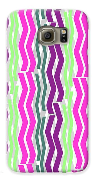 Zig Zig Stripes Galaxy S6 Case