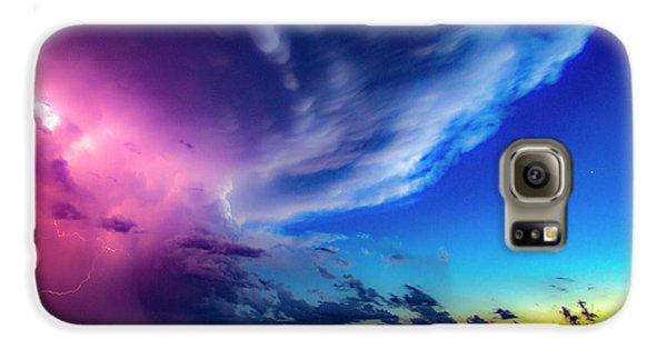 Nebraskasc Galaxy S6 Case - Epic Nebraska Lightning 007 by NebraskaSC
