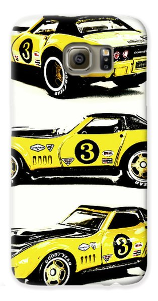 Automobile Galaxy S6 Case - 1969 Chevrolet Copo Corvette by Jorgo Photography - Wall Art Gallery