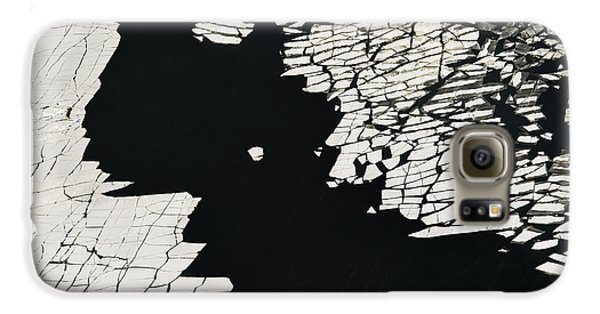 Airplanes Galaxy S6 Case - Aerial View Over The Surface Of River by Miks Mihails Ignats