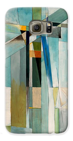 Airplanes Galaxy S6 Case - An Abstract Painting by Clivewa