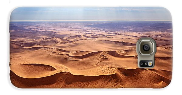 Airplanes Galaxy S6 Case - Beautiful Landscape Of The Namib Desert by Oleg Znamenskiy