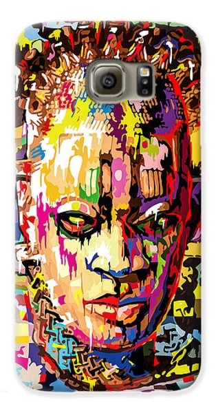 Voodoo Galaxy S6 Case - Benin Ivory Mask  by Anthony Mwangi