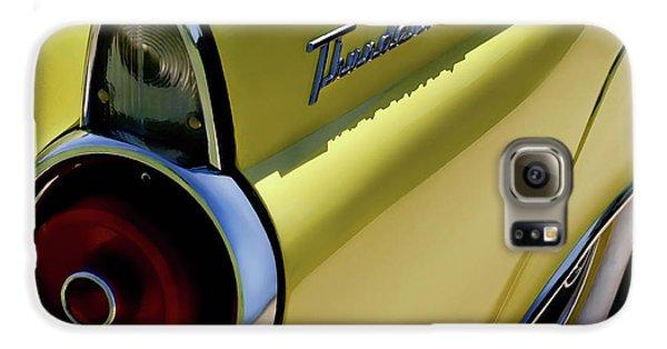 Automobile Galaxy S6 Case - 1955 Thunderbird by Douglas Pittman