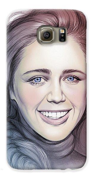 Daisy Galaxy S6 Case - Daisy Head by Greg Joens