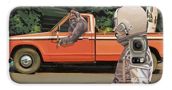 Decline Of The Planet Of The Apes Galaxy S6 Case
