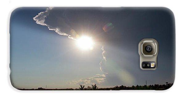 Nebraskasc Galaxy S6 Case - Dying Nebraska Thunderstorms At Sunset 002 by NebraskaSC
