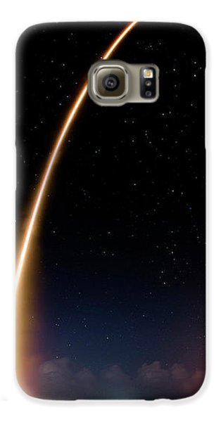 Galaxy S6 Case featuring the photograph Falcon 9 Rocket Launch Outer Space Image by Bill Swartwout Fine Art Photography