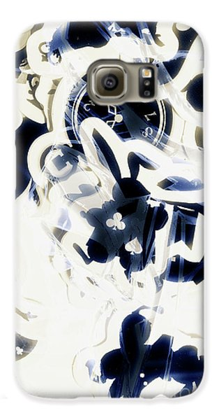 Trumpet Galaxy S6 Case - Follow The Blue Rabbit by Jorgo Photography - Wall Art Gallery