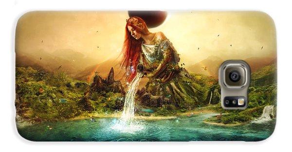 Elf Galaxy S6 Case - Fountain Of Eternity by Mario Sanchez Nevado