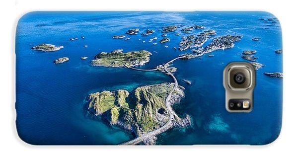 Town Galaxy S6 Case - Henningsvaer, Fishing Port On Lofoten by Harvepino