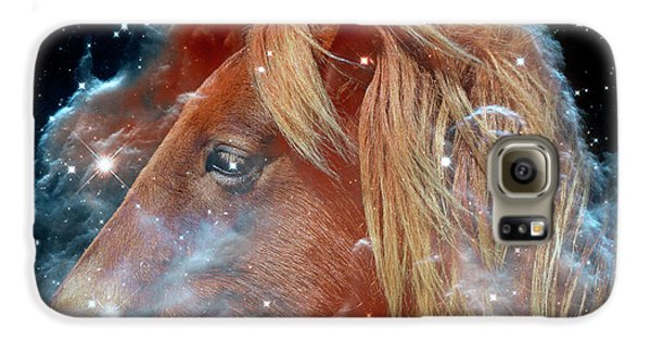 Galaxy S6 Case featuring the photograph Horsehead Nebula With Horse Head Outer Space Image by Bill Swartwout Fine Art Photography