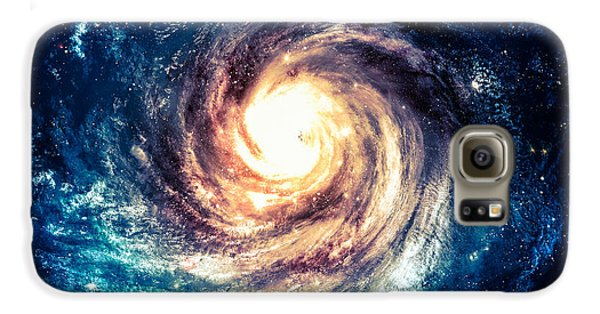 Outer Space Galaxy S6 Case - Incredibly Beautiful Spiral Galaxy by Vadim Sadovski
