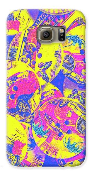 Automobile Galaxy S6 Case - Pop Art Garage  by Jorgo Photography - Wall Art Gallery
