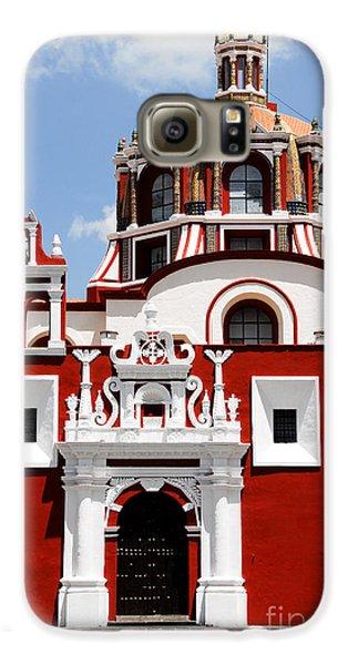 Town Galaxy S6 Case - Santo Domingo Church, Puebla Mexico by Alberto Loyo