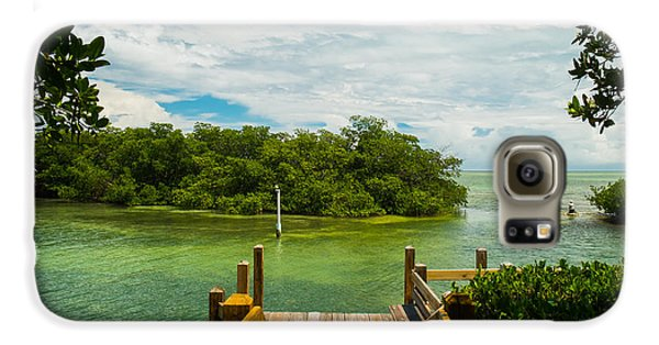 Mangrove Galaxy S6 Case - Scenic View Of The Florida Keys With by Fotoluminate Llc