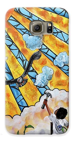 Galaxy S6 Case - Shattered Skies by Artist RiA