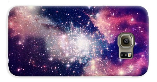 Outer Space Galaxy S6 Case - Stars Of A Planet And Galaxy In A Free by Anatolii Vasilev