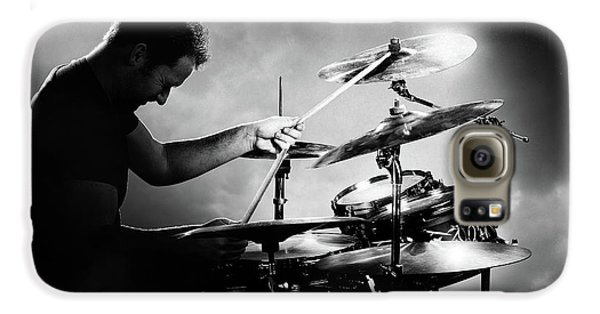 Drums Galaxy S6 Case - The Drummer by Johan Swanepoel