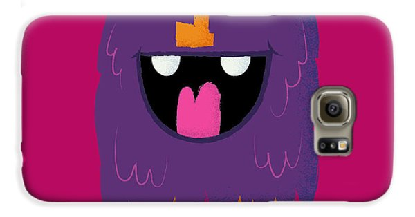 Outer Space Galaxy S6 Case - Vector Set Of Cartoon Cute Character by Quantium