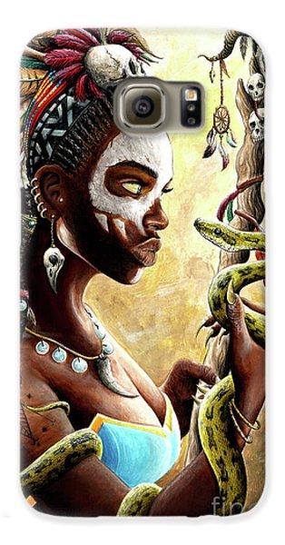 Voodoo Galaxy S6 Case - Voodoo Queen by James Holko