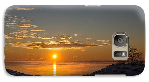 Galaxy Case featuring the photograph -15 Degrees Sunrise by Georgia Mizuleva