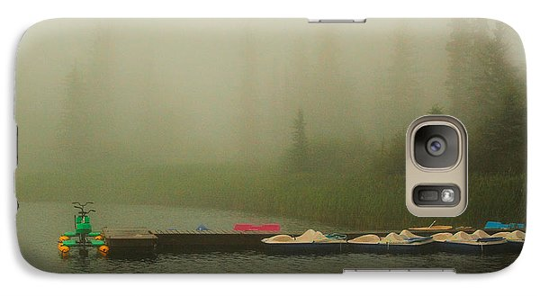 Galaxy Case featuring the photograph  A Misty Day by Steven Reed
