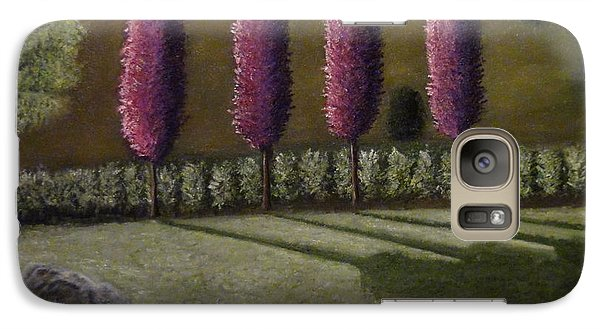 Galaxy Case featuring the painting  A Perfect Start by Shawn Marlow