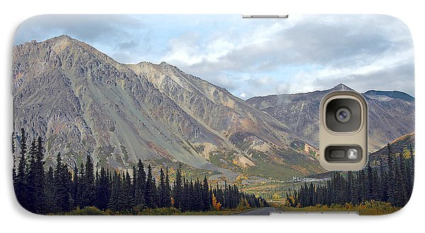 Galaxy Case featuring the photograph  Along The Parks Highway  by Dyle   Warren