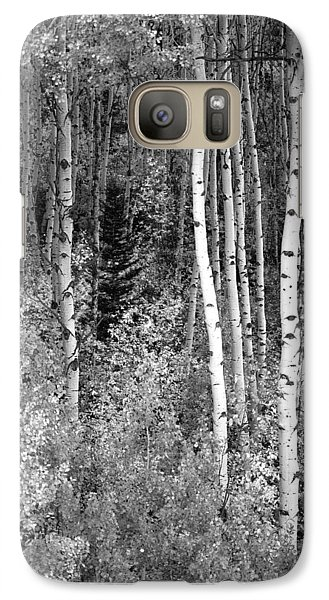 Galaxy Case featuring the photograph  Aspen Autumn  by Eric Rundle