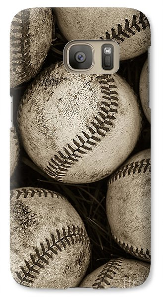 Baseballs Galaxy Case by Diane Diederich