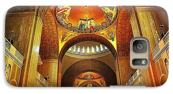 Galaxy Case featuring the photograph  Basilica Of The National Shrine Of The Immaculate Conception by John S