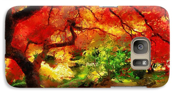 Galaxy Case featuring the painting  Beautiful Autumn by Georgi Dimitrov