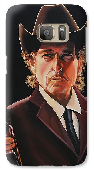 Bob Dylan Galaxy S7 Case -  Bob Dylan 2 by Paul Meijering