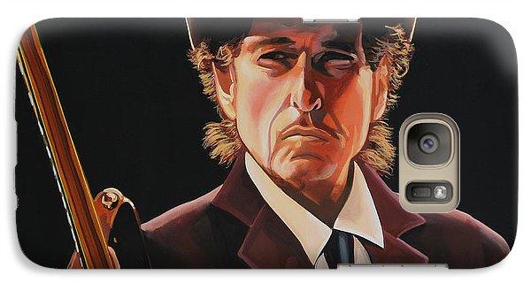 Bob Dylan 2 Galaxy Case by Paul Meijering
