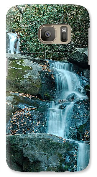 Galaxy Case featuring the photograph  Bottom Of Laurel Falls by Patrick Shupert