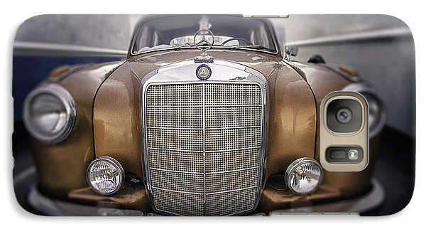 Galaxy Case featuring the photograph  Boxed-in-benz...... by Russell Styles