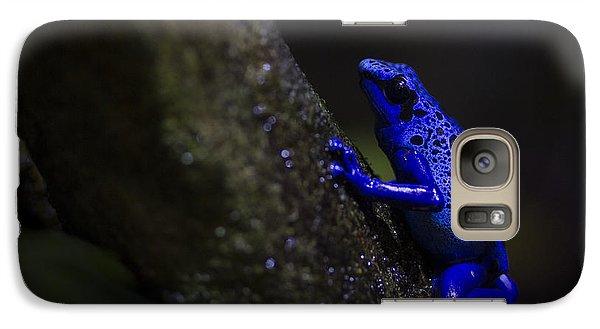 Brilliant Blue Galaxy S7 Case