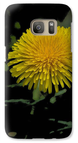 Galaxy Case featuring the photograph  Dandelion  - Glspla529 by G L Sarti