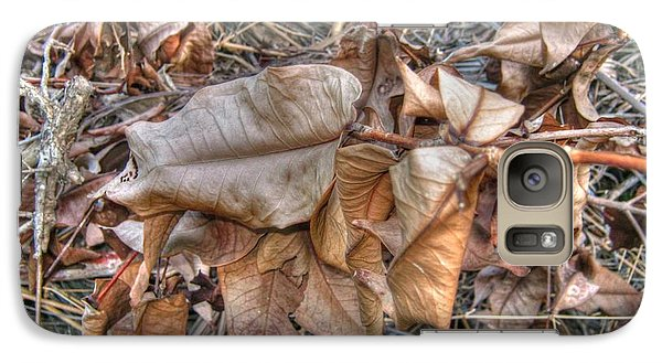 Galaxy Case featuring the photograph  Dead Leaves by Michelle Meenawong