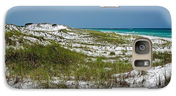 Galaxy Case featuring the photograph  Dunes    Panama City Beach  by Susan  McMenamin
