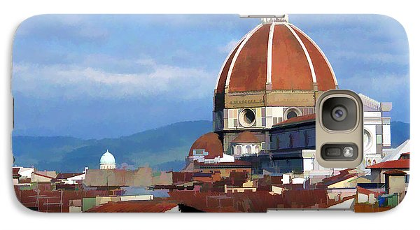Galaxy Case featuring the photograph  Duomo Of Florence # 3 by Allen Beatty