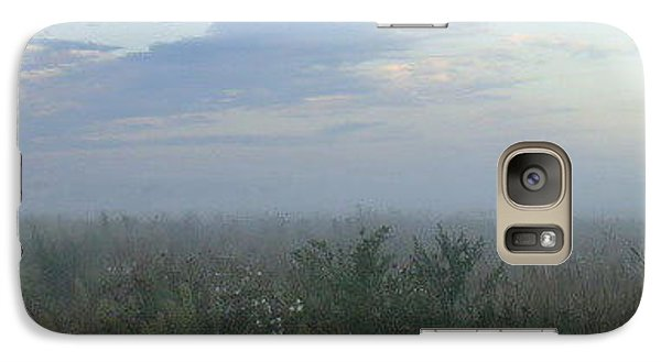 Galaxy Case featuring the photograph  Endless Wild Field by Mikhail Savchenko