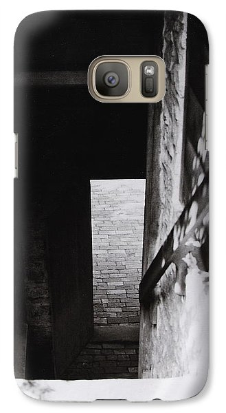 Galaxy Case featuring the photograph  Ephrata Cloisters Stairway by Jacqueline M Lewis