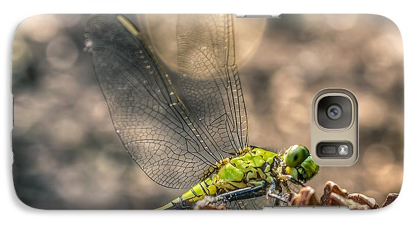 Galaxy Case featuring the photograph  Erythemis Simplicicollis by Rob Sellers