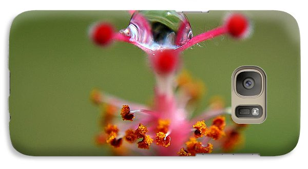 Galaxy Case featuring the photograph  Eye by Michelle Meenawong