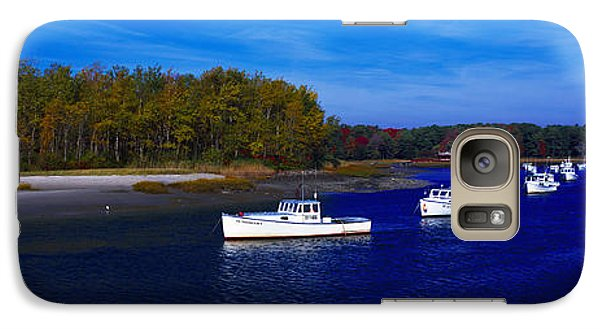 Galaxy Case featuring the photograph  Kennnepunkport Harbor  Maine  by Tom Jelen