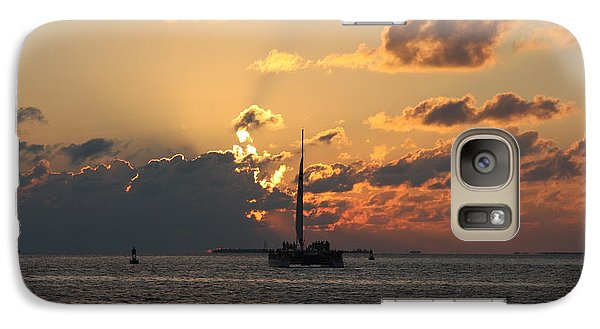 Galaxy Case featuring the photograph Marelous Key West Sunset by Christiane Schulze Art And Photography