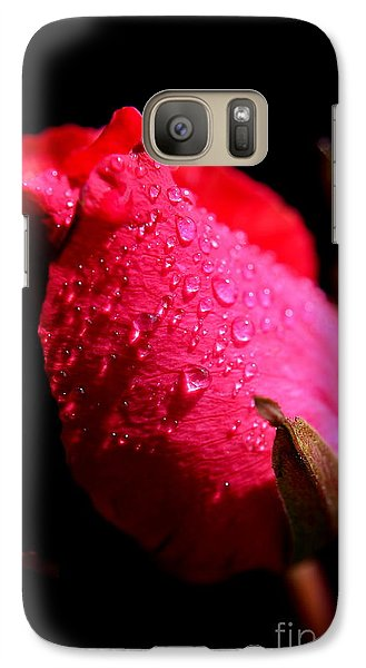 Galaxy Case featuring the photograph  La Rose by Michelle Meenawong